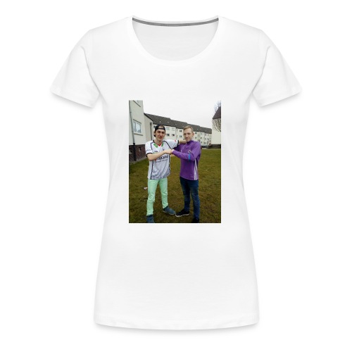 Dominik. Justin. Coll - Frauen Premium T-Shirt
