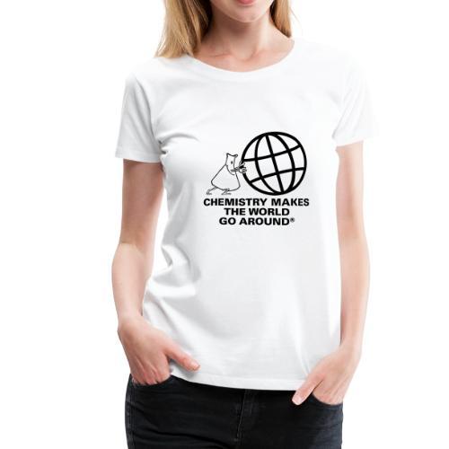 Erlenmeyer dreht die Welt - T-Shirt - Frauen Premium T-Shirt