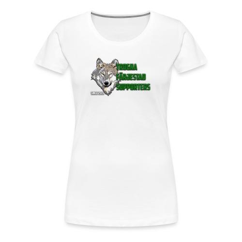 TROGNA FÄRJESTAD SUPPORTERS - Premium-T-shirt dam