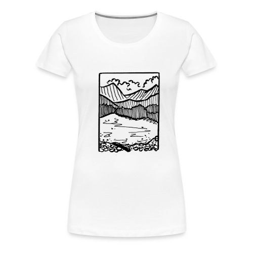 Finding Nature - Women's Premium T-Shirt
