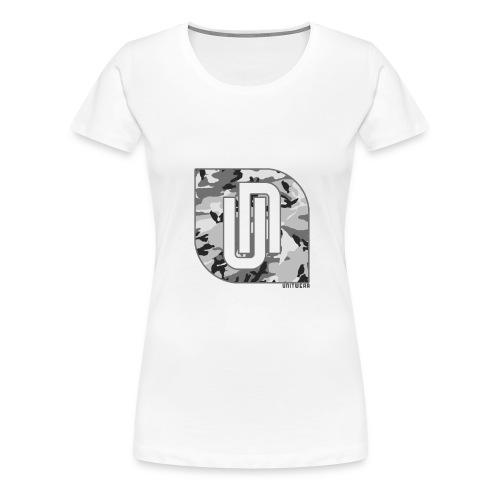 Unitwear – Camo UN Tshirt - Vrouwen Premium T-shirt