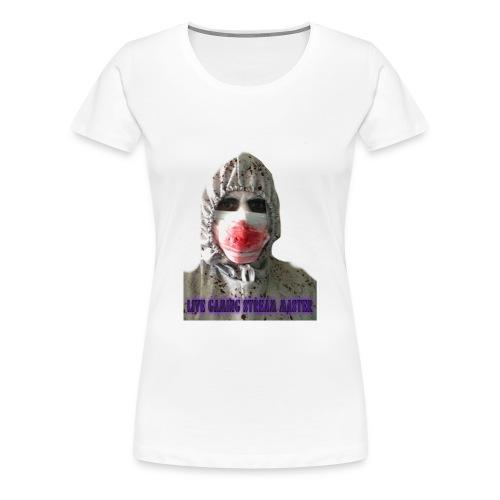 zombie live gaming stream master - Women's Premium T-Shirt