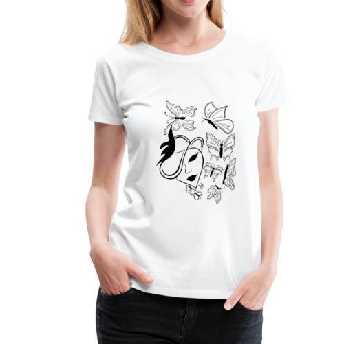 Das Sprechende Herz - Frauen Premium T-Shirt