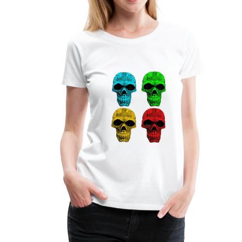 4 Skulls - Women's Premium T-Shirt