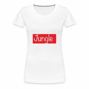 Jungle box logo - Vrouwen Premium T-shirt