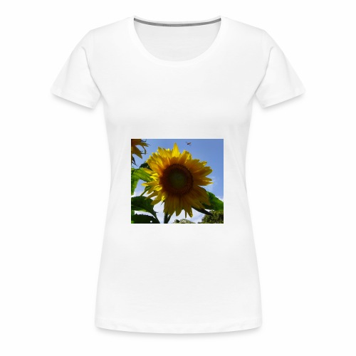 Die sonnenblume - Frauen Premium T-Shirt