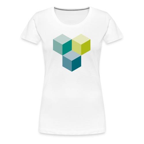 Cube - Frauen Premium T-Shirt