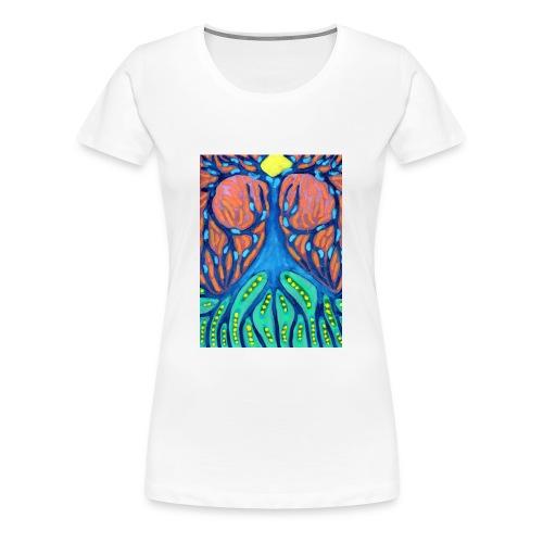 Drapiężne Drzewo - Koszulka damska Premium