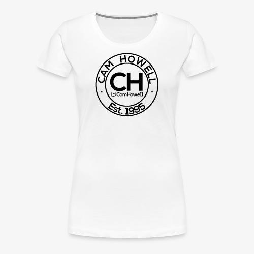CH Twitch Logo. - Women's Premium T-Shirt