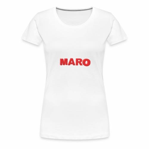 MARO VETEMENT - T-shirt Premium Femme
