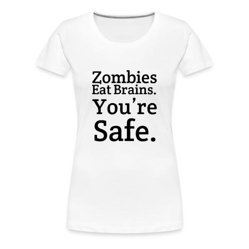 Zombies - Vrouwen Premium T-shirt