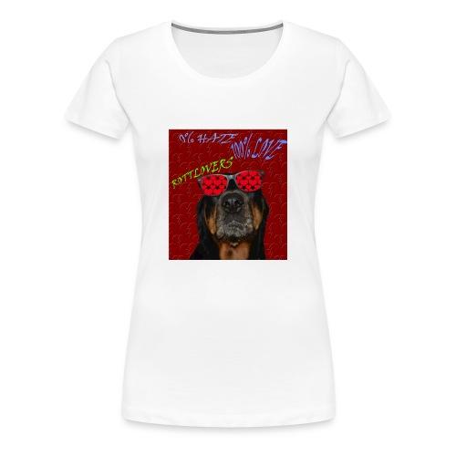 Rottlovers gafas - Camiseta premium mujer