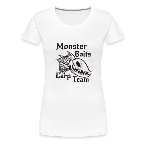 MONSTER_BAITS_WHITE - Koszulka damska Premium