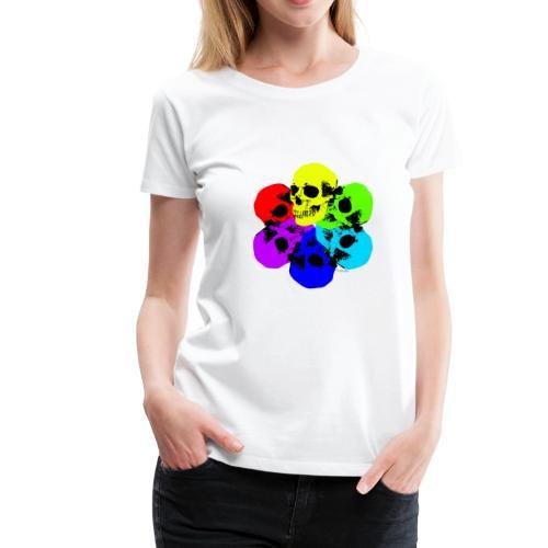 Skull Spectrum - Women's Premium T-Shirt