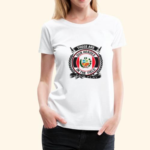 Peru 🇵🇪 - Frauen Premium T-Shirt