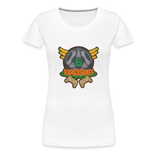 Sixpack Games Logo - Women's Premium T-Shirt