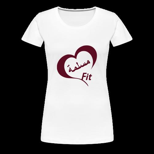 MuslimaFit - Frauen Premium T-Shirt