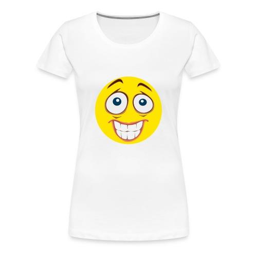 Gekke Smiley - Vrouwen - Vrouwen Premium T-shirt