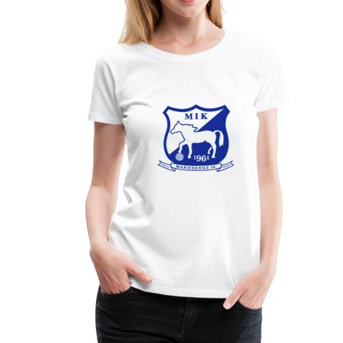 MIK - stor logo - Premium-T-shirt dam
