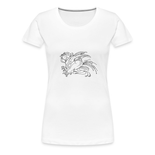 fat birdman - Maglietta Premium da donna