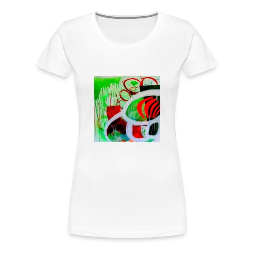 NIZE_art_t-shirt-jpg - Dame premium T-shirt
