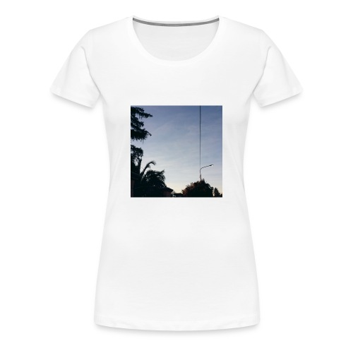 Sky Tee - Maglietta Premium da donna