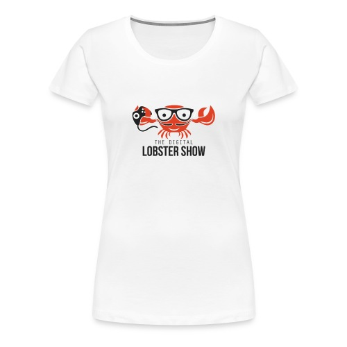 Digital lobster Baseball shirt 1kant! - Vrouwen Premium T-shirt