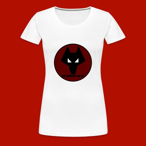 De Danske Ulve Hættetrøje - Dame premium T-shirt