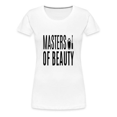 master of beauty string - Vrouwen Premium T-shirt