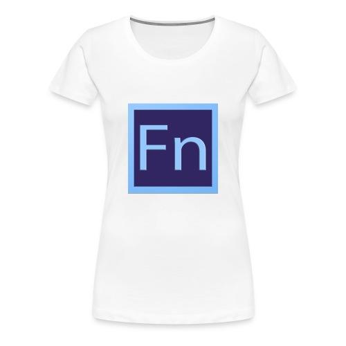 zaino con logo di falsonome - Maglietta Premium da donna