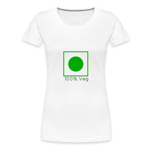 100veg-png - Premium-T-shirt dam