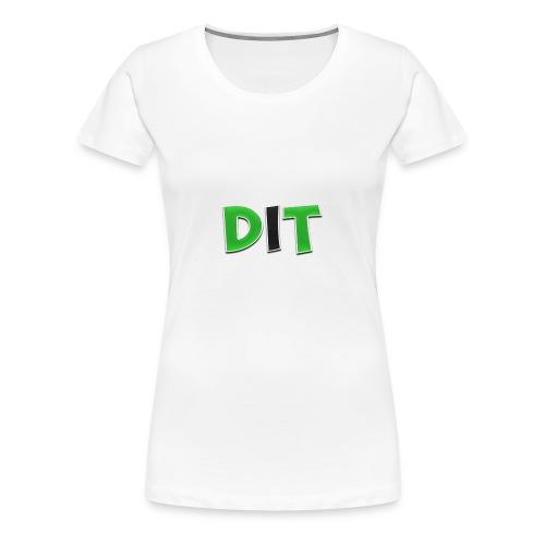 DaarIsTobias shirt korte mouwen - Vrouwen Premium T-shirt