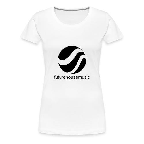 FHM_Logo_01 - Vrouwen Premium T-shirt