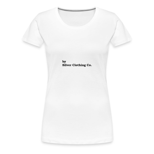 by Silver Clothing Co. - Dame premium T-shirt