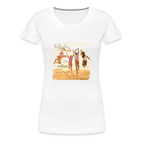 Ser feliz - Camiseta premium mujer