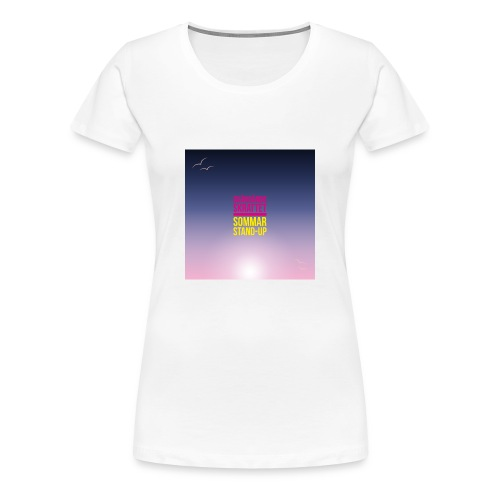 T-shirt dam Skärgårdsskrattet - Premium-T-shirt dam