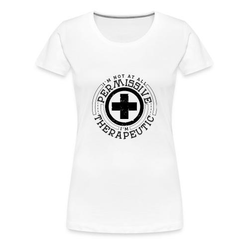 I'm Not Permissive (White) - Women's Premium T-Shirt
