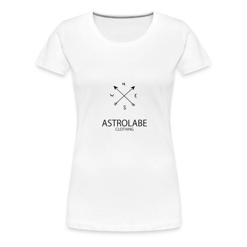 Astrolabe - T-shirt Premium Femme
