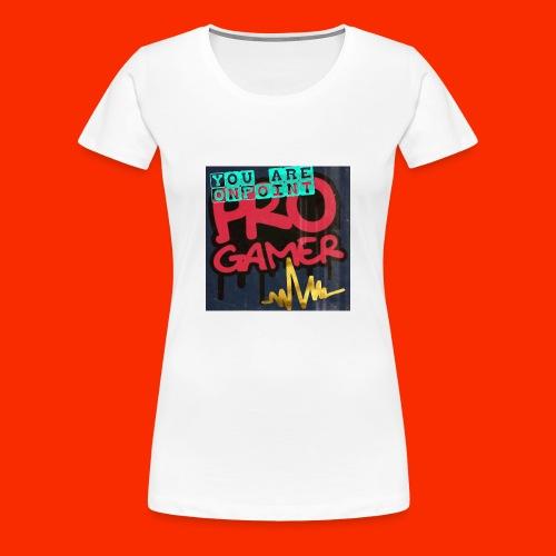 Pro Gamer - Frauen Premium T-Shirt