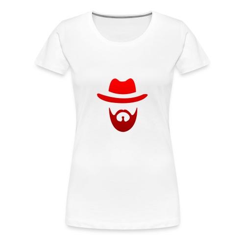 logo izicron rouge - T-shirt Premium Femme