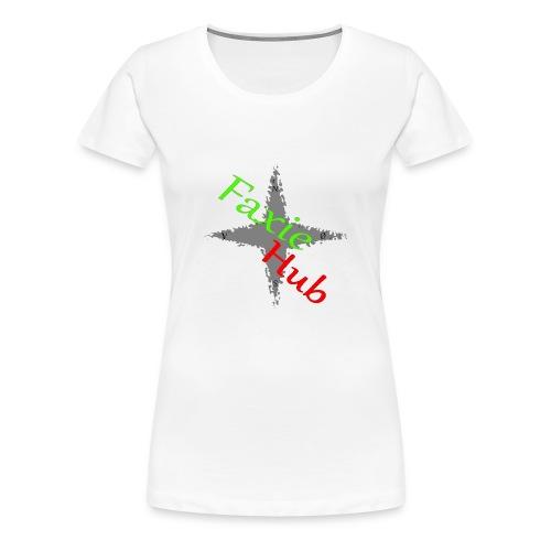 FaxieHub - Dame premium T-shirt
