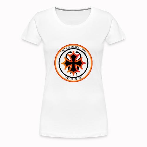 Faculté d'étiopathie Toulouse - T-shirt Premium Femme