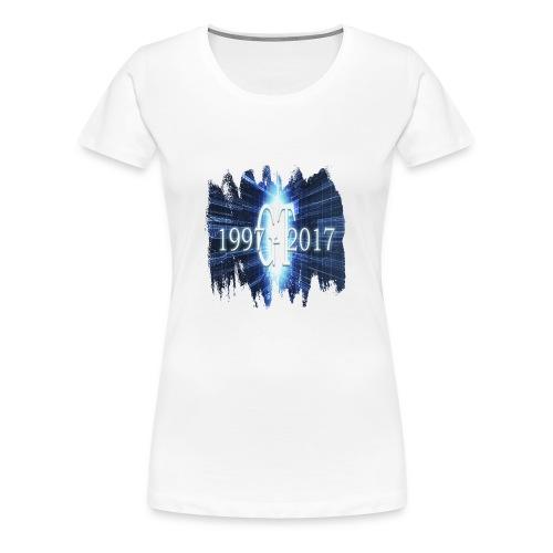 GuttaTur 20 years - Premium T-skjorte for kvinner