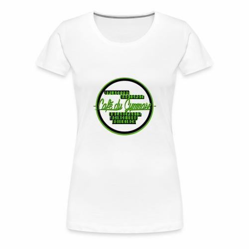 hashtags place2be - Frauen Premium T-Shirt