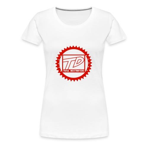 Trail Destroyers Premium Rot - Frauen Premium T-Shirt