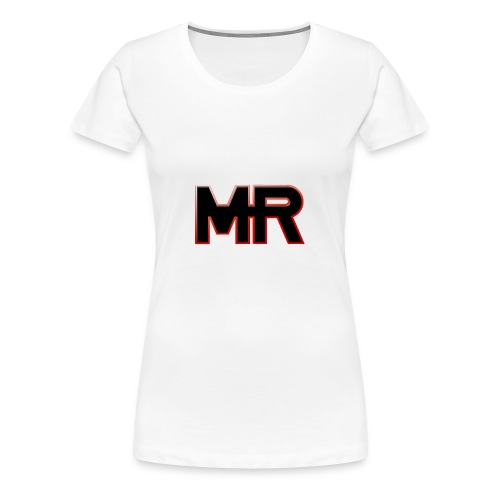 MR logo - Dame premium T-shirt
