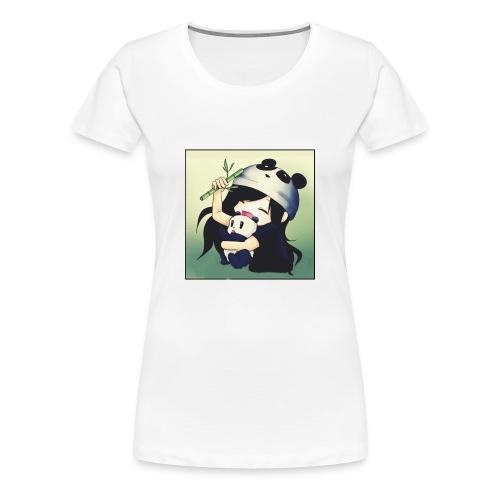 PandaMeli - Frauen Premium T-Shirt