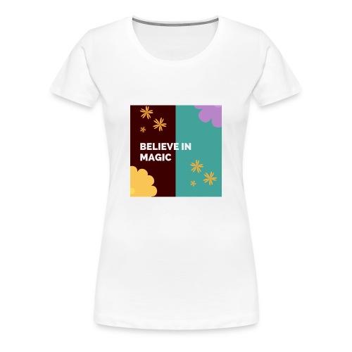 believe in magic xx - Women's Premium T-Shirt