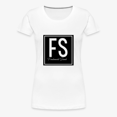 Fundamental Sounds Logo - Women's Premium T-Shirt