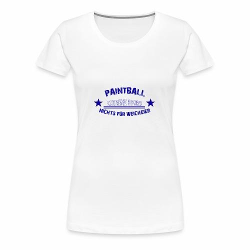 Paintball Anfänger Extreme Sport Geschenk - Frauen Premium T-Shirt